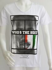 "T-SHIRT "" CELEBRY TEES ""  who's the best 3 T. XS NEUF PRIX BOUTIQUE 30 €"