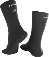 Cressi Anti-Slip High Quality Neoprene Sock For Snorkeling, Scuba Diving Black M