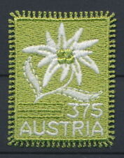 Austria Flower embroidered stamp Very Fine Self Adhesive - MNH