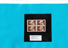FRANCE1955- Bloc De 4 Les Fréres Lumiéres N°1033**  Neufs**Luxe