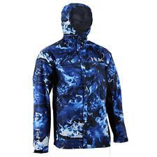 HUK Performance Fishing CYA Camo Packable Rain Jacket, Shell - : H4000018-468-XL