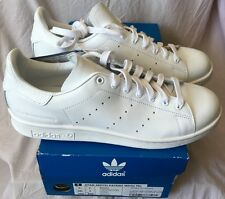 DEADSTOCK ADIDAS STAN SMITH X WHITE MOUNTAINEERING WHITE PATENT LEATHER UK 7