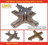 LMG BB-01 1/32-1/144 Airplane building berth, Laser Model Graving, Stand