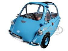 HEINKEL TROJAN RHD BUBBLE CAR BLUE 1/18 DIECAST MODEL CAR BY OXFORD 18HE001