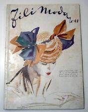 Taglio cucito Fili Moda Lavori Femminili 1950