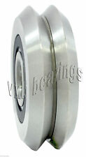 "RM2-2RS 3/8"" Ceramic Si3N4 V-Groove Guide Bearing Sealed Ball Bearings 20795"