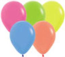 "11"" Betallatex Latex Party Balloons Neon Colors Helium Grade"