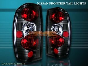 FIT 1998-2004 FRONTIER ALTEZZA TAIL LIGHTS BLACK 03 02 01 00 99