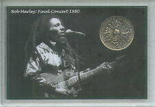 Bob MARLEY GIAMAICA reggae musica Rasta Rastafarian VINTAGE MEDAGLIA Set Regalo 1980