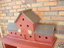 Horsebarn Birdhouse PATTERN & INSTRUCTIONS-740WC 2017