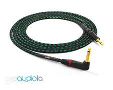 "Evidence Audio Lyric HG Instrument Cable   Neutrik Gold 90º to 1/4"" TS   10 ft."