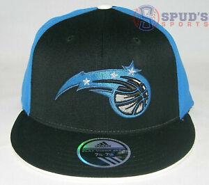 adidas ORLANDO MAGIC NBA Basketball Flat Brim Flex Fit Wool Hat Cap MEN L/XL NWT