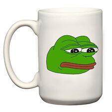 PEPE il triste Frog 15oz Grande Tazza Coppa Grande regalo RARO Dank tendenze