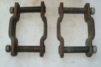 1940-1950 Studebaker NORS Spring Shackles (2, less bushings),  Made in USA