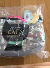 DISASTER DESIGNS CATS WHISKER MAKE UP BAG BNWT