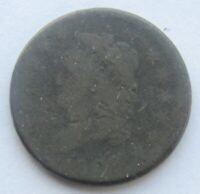 1808 Classic Head Large Cent Rare Date Minor Corrosion