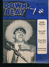 DOWN BEAT July 14, 1948 Jazz Magazine CAB CALLOWAY Cover