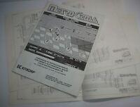 Metro-Cross Arcade MANUAL Original 1985 Game Repair Booklet And Schematic Set