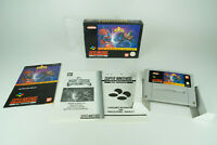 Super Nintendo *Power Rangers: The Fighting Edition* SNES OVP Anleitung Schutzh