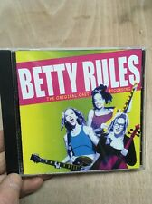 Betty Rules:The Original Cast Recording CD 2002 Michael Greif Betty Musical
