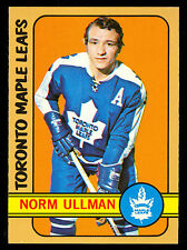 1972 73 TOPPS HOCKEY #168 NORM ULLMAN NM DIFF POSE from opc  TORONTO MAPLE LEAFS