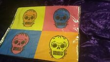 NEW - FOUR SKULLS Day of the Dead Mexico Michael's MOUSEPAD MOUSE PAD 7.5 x 9.5