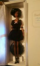 Lingerie Barbie 5 AA Fashion Model Collector Silkstone NRFB 2002 HTF BFMC Black