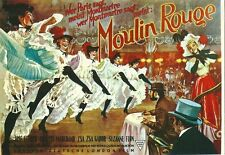 CPM Affiche cinéma film movie Moulin Rouge Zsa Zsa Gabor French can can danse