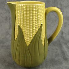 SHAWNEE CORN KING LARGE MILK WATER PITCHER #71 ~ 56 OUNCE ~ Art Pottery ~