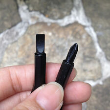 2Keys Black Stainless Keychain Pocket Tool Screwdriver Set EDC Multifunction FF