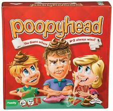 POOPY HEAD GAME STUDENT ADULTS KIDS BIRTHDAY CHRISTMAS FAMILY FUN BOARD GAME