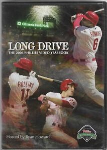 NEW! SEALED! Long Drive: The 2006 PHILADELPHIA PHILLIES Video Yearbook DVD
