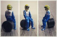 Ayrton SENNA Williams Renault 1994 figurine diorama 1/43 F1 driver figure