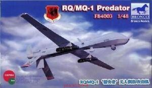 Bronco FB4003RQ/MQ-1 Predator 1:48 Scale Plastic Model Kit