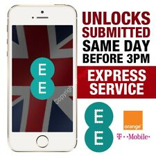 UNLOCK SERVICE For Apple iPhone 7 / 7 Plus Unlocking EE ORANGE T-MOBILE UK