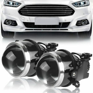 "3.0"" Bi Xenon Projector Fog Light Lamp Lens Hi-Lo For Ford Focus FIESTA ECOSPORT"