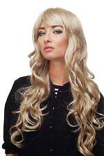 Perruque Blond-Braun-Mix Boucles Longue Raie sur le Côté 70 Cm 9204S-613L/18