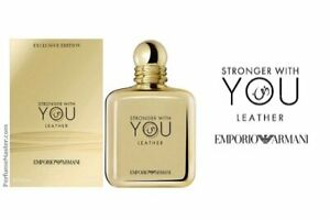 STRONGER WITH YOU  | EDP | 100 ML | ORIENTAL LEATHER | FOR MEN | EMPORIO ARMANI