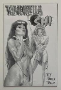 Vampirella Shi #1 RARE Black & white Sketch cover (Harris 1997) VF condition.