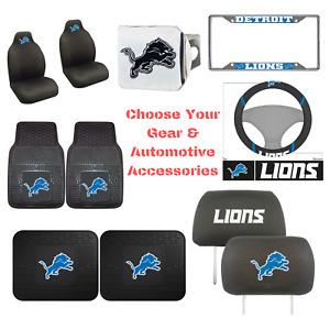 NFL Detroit Lions Choose Your Gear Auto Accessories Official Licensed