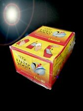 PANINI EURO 2000 BOX DISPLAY STICKER BUSTINE 100 PACKETS 74 78 80 82 84 86 88 90