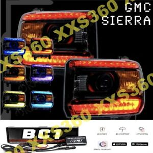 ORACLE for GMC Sierra 14-15 Headlight DRL Upgrade Kit COLORSHIFT Bluetooth BC1