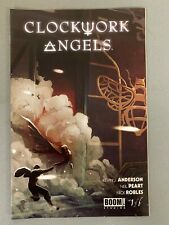 CLOCKWORK ANGELS 1 LARRY'S COMICS VARIANT Neil Pert Rush Boom Studios HOT