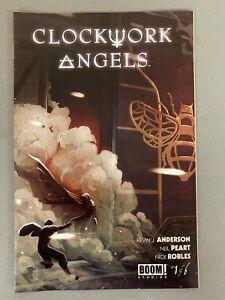CLOCKWORK ANGELS 1 LARRY'S COMICS VARIANT Neil Pert Rush Boom Studios HOT