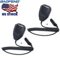 2x Baofeng Speaker Mic Microphone for Waterproof UV-XR UV-9R Plus Two Way Radio