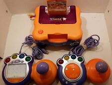 Vtech Vsmile TV Learning System w/2 Controller (1 w/Writing Pad&Stylus) +3 Games