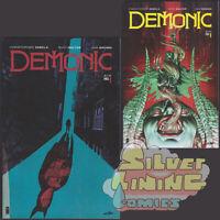 DEMONIC #1 Set of Two IMAGE COMICS