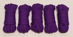 5 * 10 m Bondageseil Bondage Seil Suspension Shibari Fesseln lila  ab 0,38 € / m