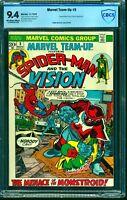 Marvel Team-up #5 CBCS NM 9.4 Off White to White Comics
