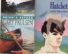 Complete Set Series - Lot of 5 Brian's Saga books by Gary Paulsen Hatchet River